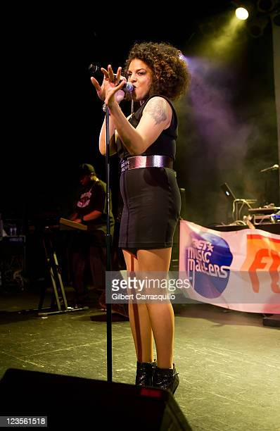Marsha Ambrosius performs during the BET Music Matters Tour 2011 at the Theater of the Living Arts on April 4, 2011 in Philadelphia, Pennsylvania.