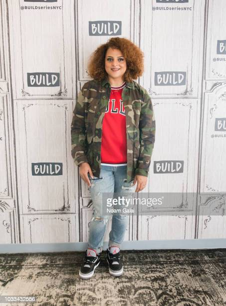 Marsha Ambrosius visits Build Series to discuss 'NYLA' at Build Studio on September 14, 2018 in New York City.