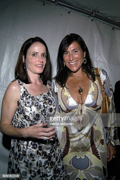 Marsha Dunn and Haile Boesky attend The Parrish Art Museum Midsummer Party Honoring Director Trudy C Kramer at Southampton on July 14 2007