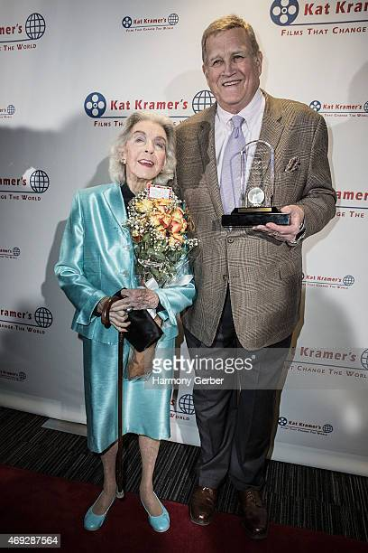 Marsha Hunt and Ken Howard attend the 7th Annual Annual Kat Kramer's Films That Change The World Screening Series at The Canon USA Inc Screening Room...