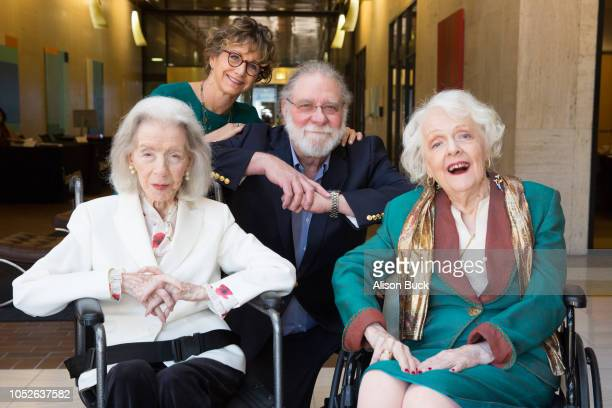 Marsha Hunt Gabrielle Carteris Richard Masur and Barbara Perry attend the Presentation Of Founders And Presidents Awards at SAGAFTRA Plaza on October...