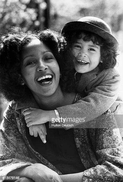 Marsha Hunt with her daughter Karis the daughter of Mick Jagger