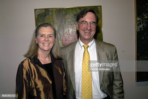 Marsha Kenny and Steve Kenny attend The Parrish Art Museum Midsummer Party Honoring Director Trudy C Kramer at Southampton on July 14 2007