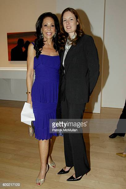 Marsha Levine and Melyora Kramer attend LORA DRASNER's SUNSETS' at MARLBOROUGH GALLERY at Marlborough Gallery at 40 West 57th on April 30 2008 in New...