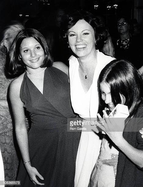 Marsha Mason and Daughters during 46th Annual Academy Awards Gala Ball at Century Plaza Hotel in Century City California United States