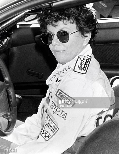 Marsha Mason during 1991 Toyota ProCelebrity Benefit Race at Toyota Grand Prix in Long Beach California United States