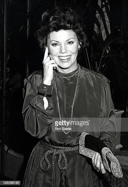 Marsha Mason during First Lady's Fundraising Dinner February 8 1980 at Beverly Hilton Hotel in Beverly Hills California United States