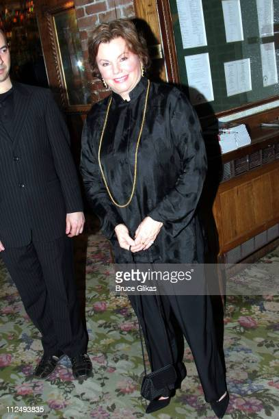 Marsha Mason during Steel Magnolias Opening Night on Broadway After Party Inside at Tavern on the Green in New York City New York United States