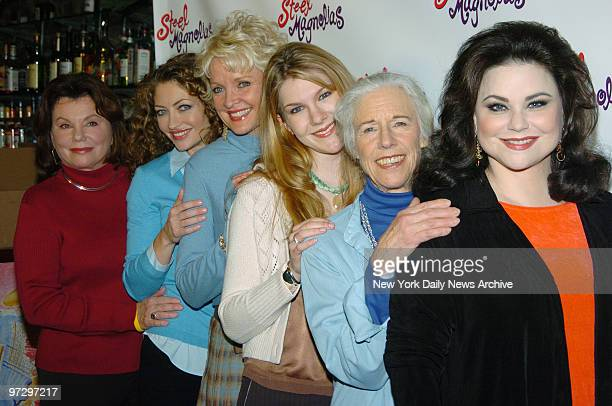 Marsha Mason Rebecca Gayheart Christine Ebersole Lily Rabe Frances Sternhagen and Delta Burke attend a luncheon for cast members of the Broadway...