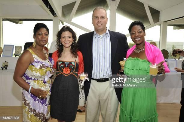 Marsha Powell Gina De John Tony De John and Yamilee Taitt attend MIRACLE HOUSE 20th Anniversary Memorial Day Summer Kickoff Benefit honoring Amy...