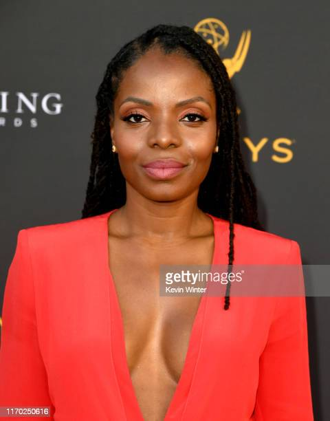 Marsha Stephanie Blake arrives at the Television Academy's Performers Peer Group Celebration at Saban Media Center on August 25 2019 in North...