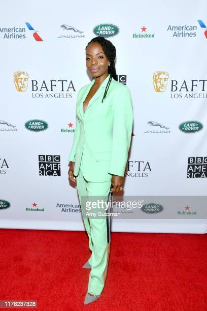 Marsha Stephanie Blake attends the BAFTA Los Angeles BBC America TV Tea Party 2019 at The Beverly Hilton Hotel on September 21 2019 in Beverly Hills...