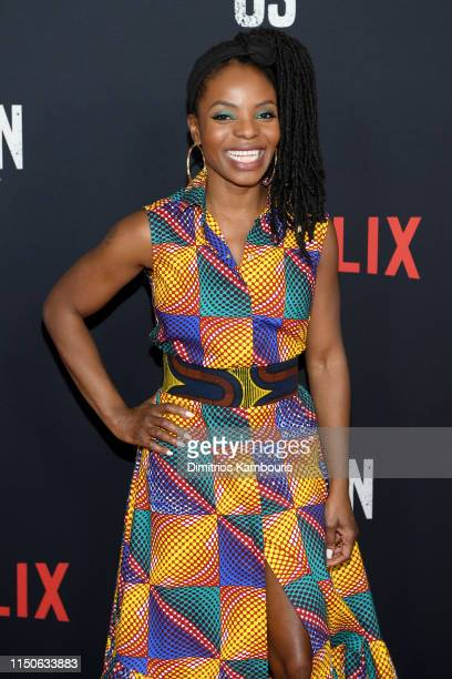 Marsha Stephanie Blake attends the World Premiere of Netflix's When They See Us at the Apollo Theater on May 20 2019 in New York City