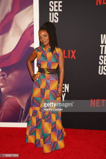 Marsha Stephanie Blake attends the World Premiere of When They See Us at The Apollo Theater on May 20 2019 in New York City