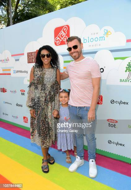 Marsha Thomason and Craig Sykes attend Step2 Presents 7th Annual Celebrity Red CARpet event by New Bloom Media Benefitting Baby2Baby at Sony Pictures...
