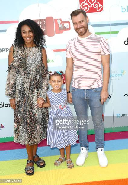 Marsha Thomason and Craig Sykes attend Step2 Presents 7th Annual Celebrity Red CARpet Event by New Bloom Media Benefiting Baby 2 Baby at Sony...