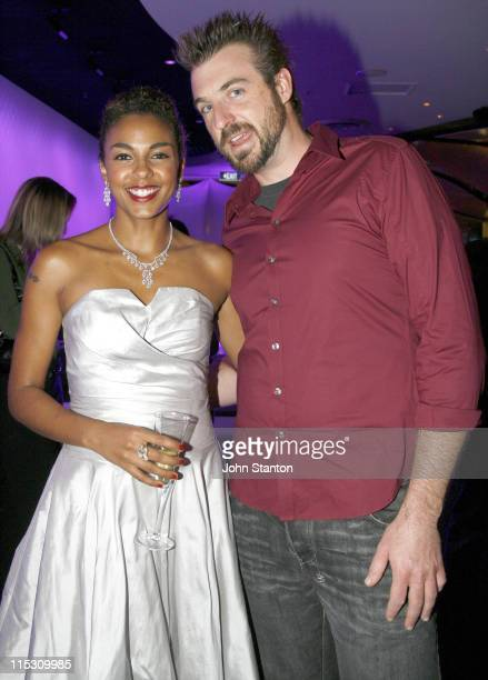 Marsha Thomason and Jabba during 36 Degrees Opening July 26 2006 at Star City Casino in Sydney NSW Australia