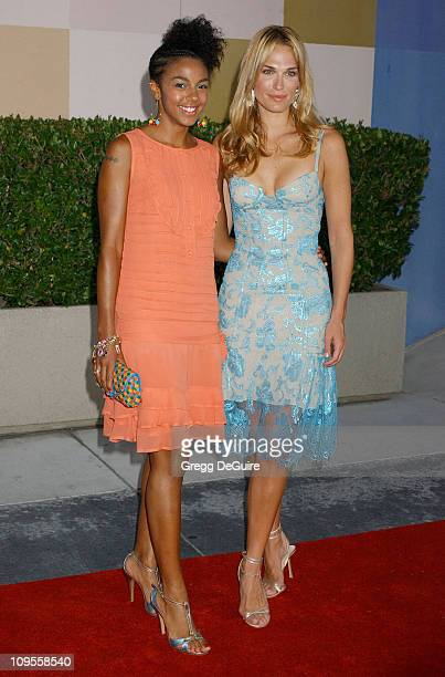 Marsha Thomason and Molly Sims during 2004 NBC All Star Party Arrivals at Universal Studios in Universal City California United States