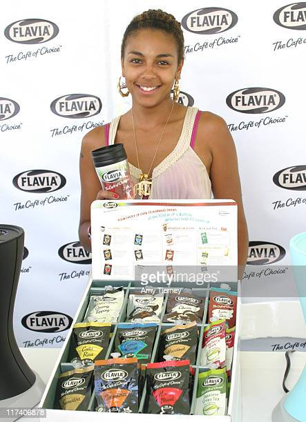 Marsha Thomason during FLAVIA at 2006 Silver Spoon Emmy Suite Day 2 at Wattles Mansion in Los Angeles California United States