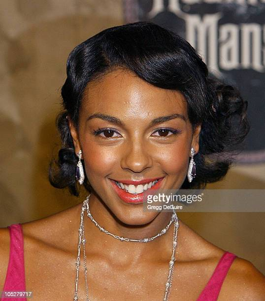 Marsha Thomason during The Haunted Mansion World Premiere at El Capitan Theatre in Hollywood California United States