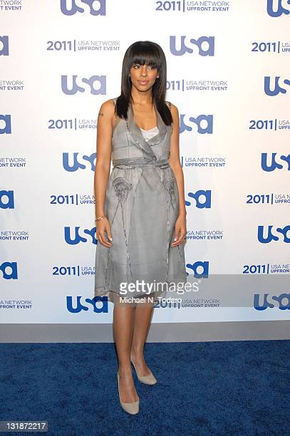 Marsha Thompson attends the 2011 USA Upfront at The Tent at Lincoln Center on May 2 2011 in New York City