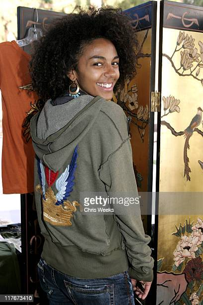 Marsha Tompson at Eccentric Symphony during Silver Spoon PreEmmy Hollywood Buffet Day 2 in Los Angeles California United States Photo by Chris...