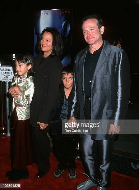 Marsha Williams Robin Williams Zelda Williams and Cody Williams