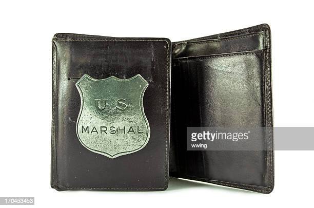 Marshal Badge in Wallet