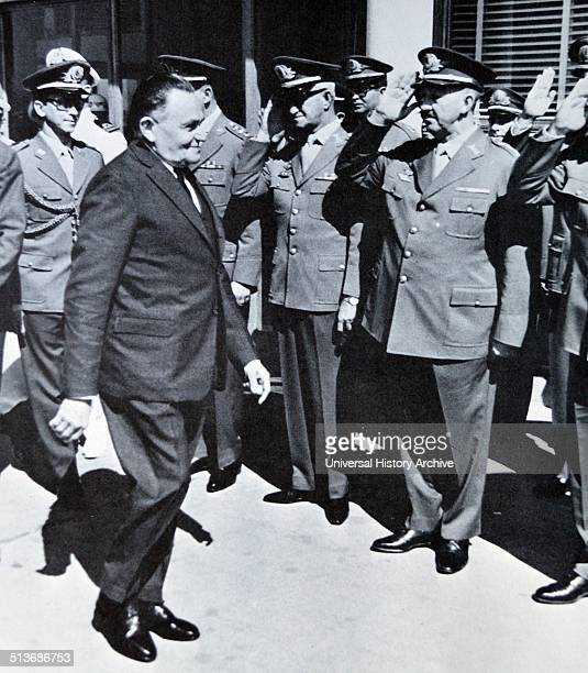 Marshal Castelo Branco Brazilian military leader and politician President of Brazil after the 1964 military coup d'etat He was killed in an aircraft...