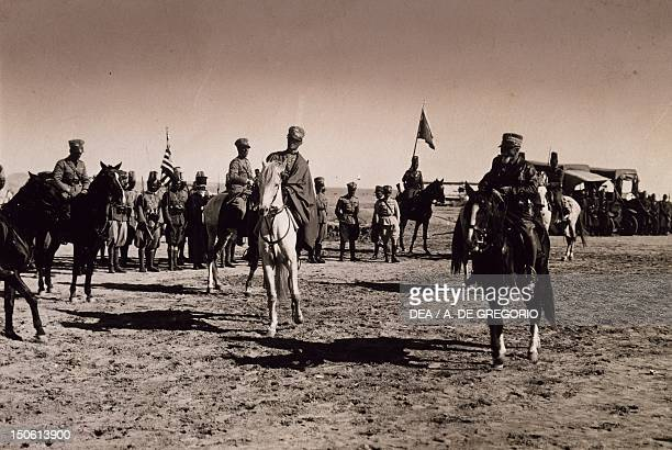 Marshal Emilio De Bono commander of the Italian forces during the first phase of the war 1935 Ethiopian war 20th century