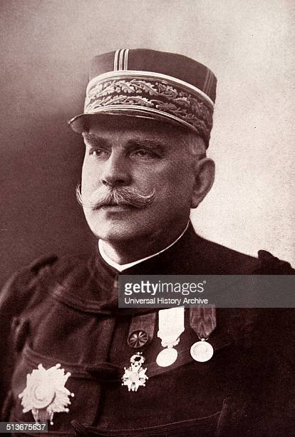 Marshal Joseph Joffre, 1852 – 3 January 1931, a French general during World War One. Known for regrouping the retreating allied armies to defeat the...