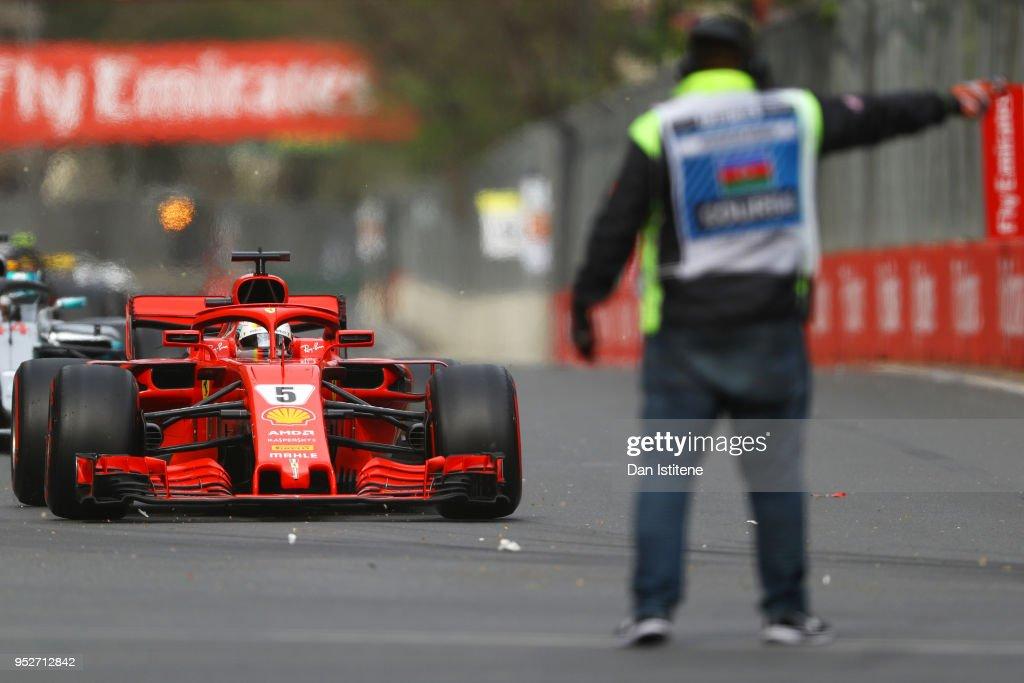 Azerbaijan F1 Grand Prix : News Photo