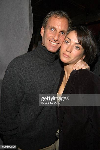 Marshall Allan and Karen LaGatta attend Valentine's Day Cocktail Party hosted by Abby Weisman and Robin Navrozov at Serena's on February 14 2006 in...