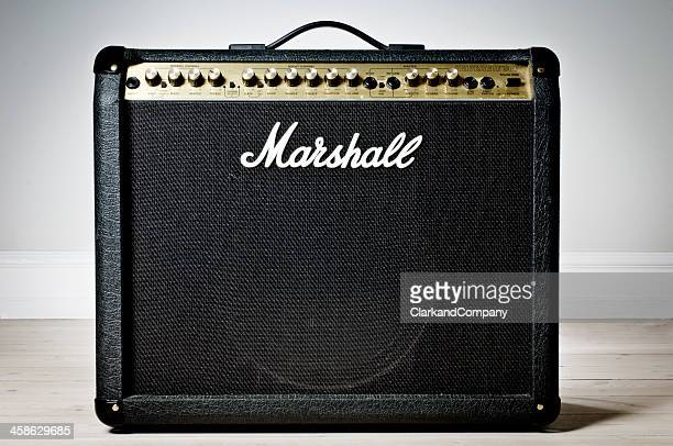 Marshall Amplifier Against a Neutral Background