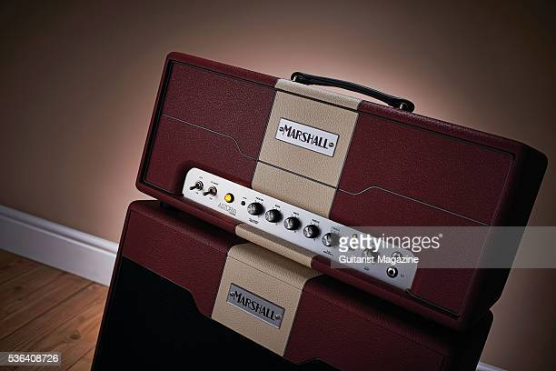 A Marshall Astoria Custom amp head and 1x12 speaker cabinet taken on September 14 2015