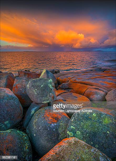 Marshall bay dawn light