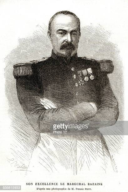 1864 Marshall Bazaine François Achille Bazaine french marshall He served in Algeria Crimea and Mexico but he is best known for his failings during...