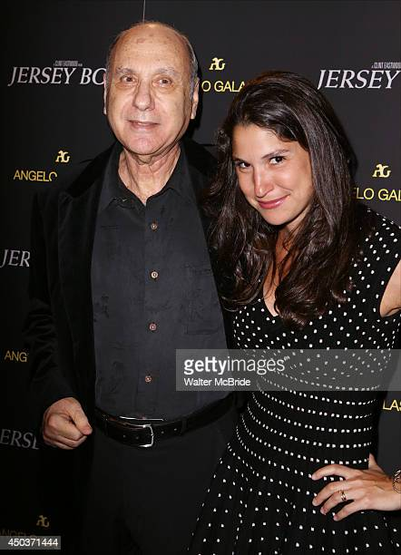 Marshall Brickman and neice attend a special New York screening reception for 'Jersey Boys' hosted by Angelo Galasso at Angelo Galasso on June 2014...