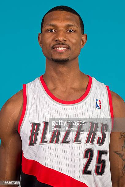 Marshall Brown of the Portland Trail Blazers poses for a portrait during Media Day on December 16 2011 at the Rose Garden Arena in Portland Oregon...