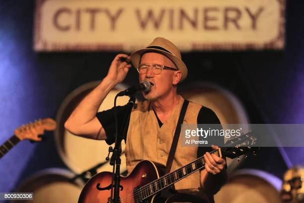 Marshall Crenshaw and Los Straightjackets perform at City Winery on June 25 2017 in New York City