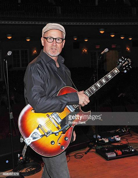 Marshall Crenshaw attends NYCFab50 Presents America Celebrates The Beatles at Town Hall on February 8 2014 in New York City