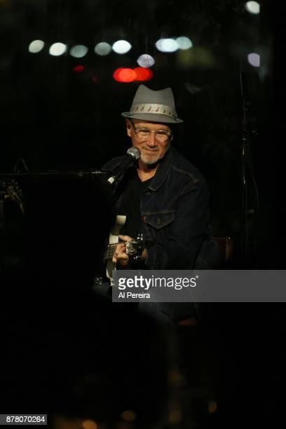 Marshall Crenshaw performs at City Vinyard on November 20 2017 in New York City