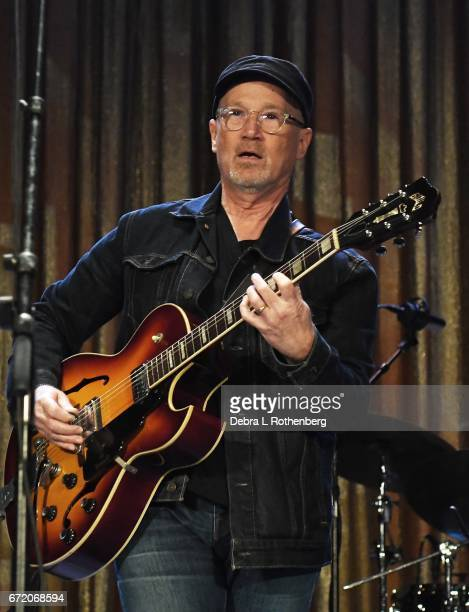 Marshall Crenshaw performs during An All Star Tribute to the Beatles featuring Marshall Crenshaw and members of the Weeklings during the Asbury Park...