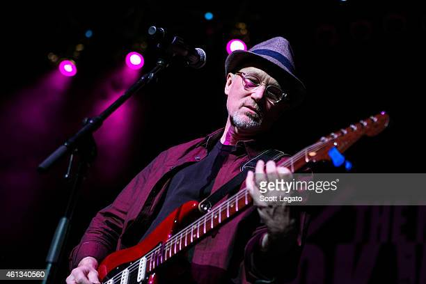 Marshall Crenshaw performs during The Dick Wagner 'Remember the Child' Memorial Concert at The Fillmore Detroit on January 10 2015 in Detroit Michigan