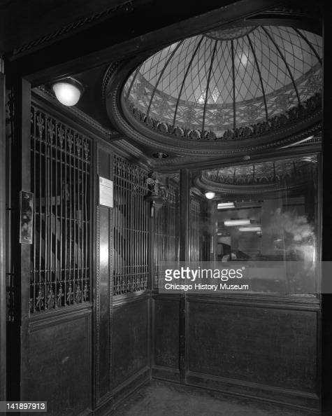 Marshall field company interior view elevator chicago - Interior design companies chicago ...