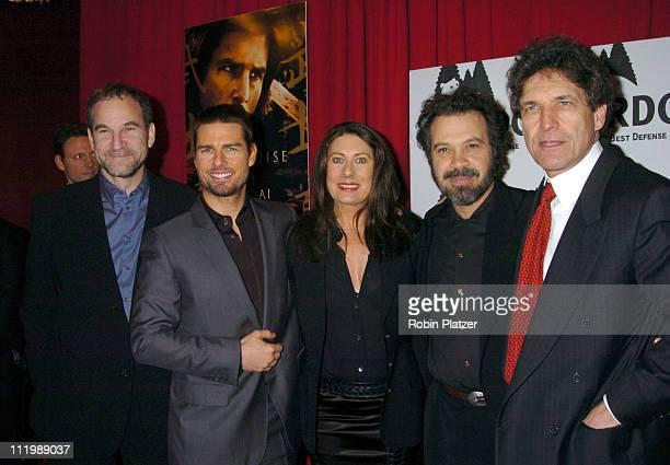 Marshall Herskovitz producer Tom Cruise Paula Wagner Ed Zwick director and Alan Horn