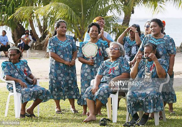 MAJURO Marshall Islands Women from Rongelap Atoll sing a song about missing their native island during an event held March 1 2014 in Majuro the...