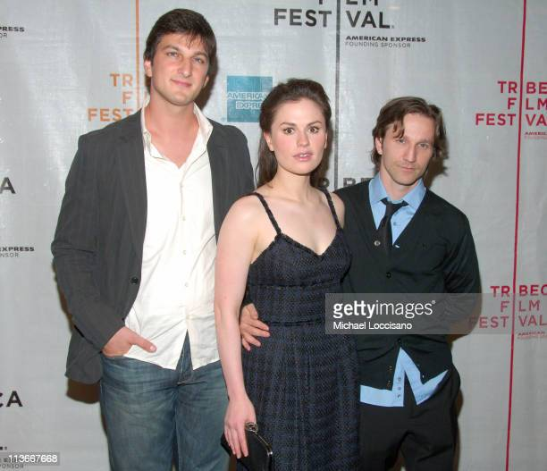 Marshall Lewy Writer and Director Anna Paquin and Breckin Meyer