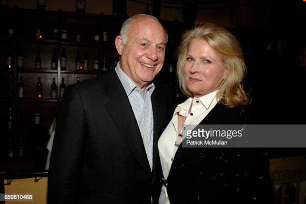 Marshall Rose and Candice Bergen attend LINDA and MORT JANKLOW 49th Wedding Anniversary at Wine Restaurant on November 27 2009 in New York City