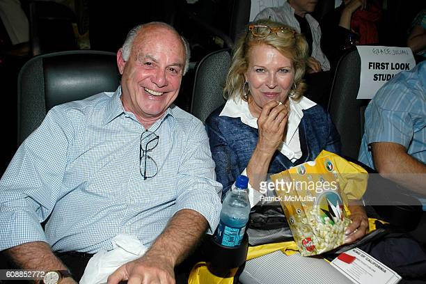 Marshall Rose and Candice Bergen attend Screening of First Look Studios KING OF CALIFORNIA at UA East Hampton Cinema on August 19 2007 in East...
